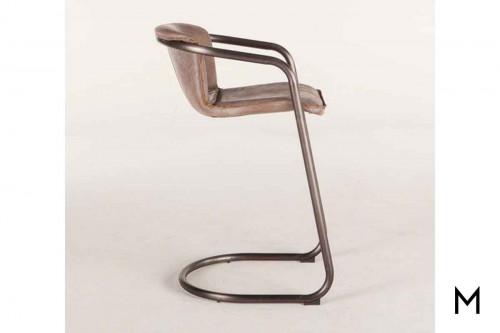 Portofino Antique Bar Chair in Brown