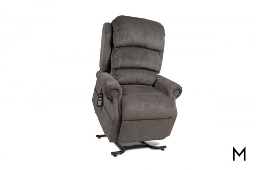Large Stellar Lift Recliner in Abington Granite