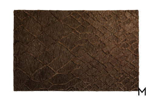 Mojave Chocolate Runner Rug 2'x7'