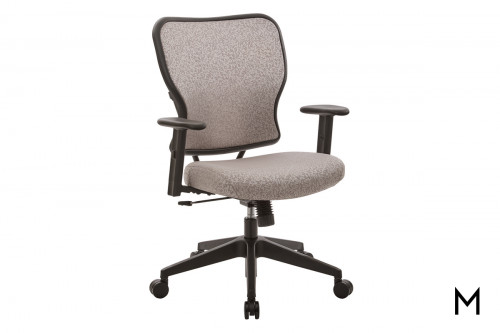 Latte Fabric Office Chair
