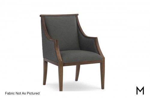Townshend Desk Chair in Wisteria Leather