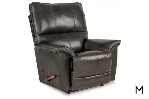 Norris Rocking Recliner in Shitake