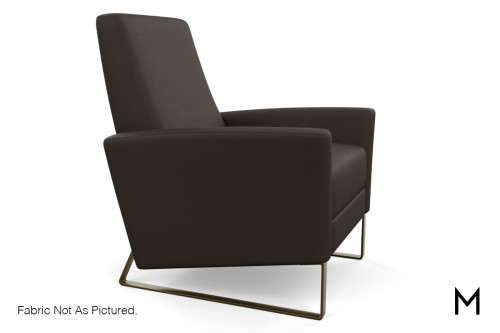 Contemporary Leather Recliner
