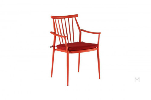 Darrow Arm Chair in Red