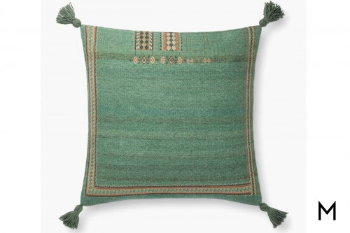 Blakeney Green Pillow