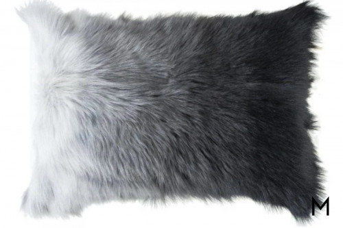 Lhasa Ombre Fur Pillow