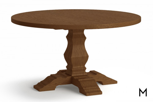 """Round 54"""" Pedestal Dining Table"""