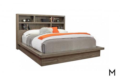 Modern Loft Platform Bed in King