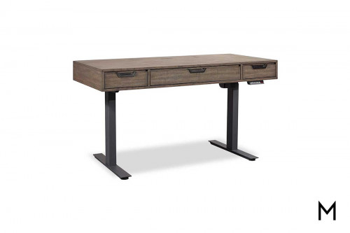 Harper Point Adjustable Desk with Drawers