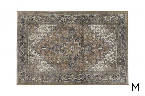 Amanti Chocolate Area Rug 5'x8'