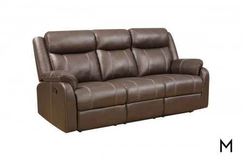 Domino Reclining Sofa with Center Drop Table
