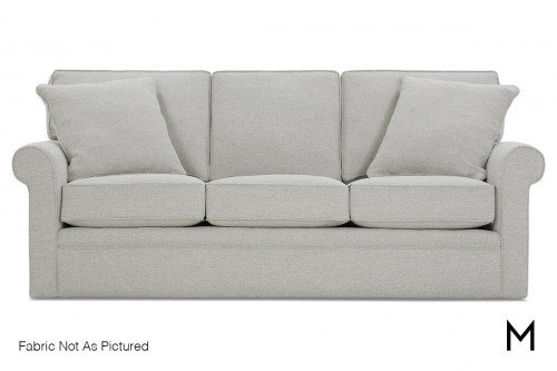 Rolled Arm 3 Seat Sofa