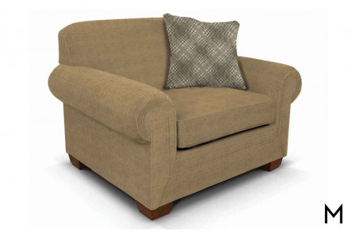 Monroe Chair in Abruzzo Taupe