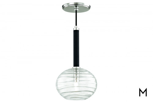 Contemporary Glass Globe Pendant