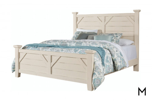 Farmhouse Plank King Bed