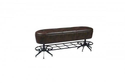 Ale House Gathering Bench with Footrest
