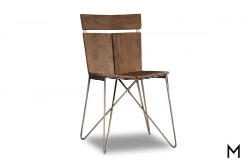 Transcend Side Chair made of Acacia Wood