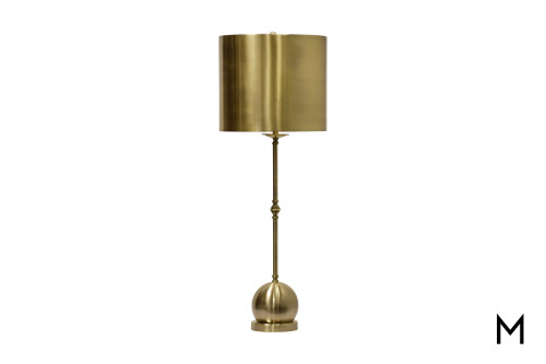 Brass Fulton Table Lamp