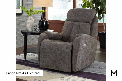 M Collection Hard Rock Power Recliner