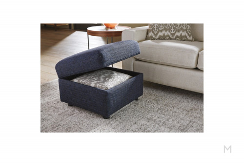 Picabo Ottoman with Storage Compartment