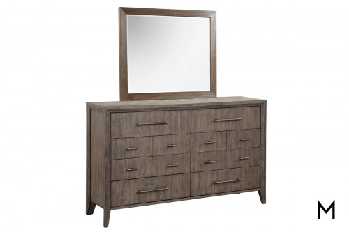 Contemporary Dresser Mirror