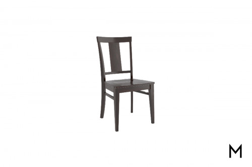 Simplicity Side Chair in Matte Kaffe