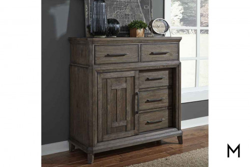 Artisan Prairie Door Chest