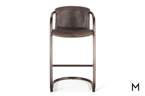 Portofino Antique Bar Chair in Ebony