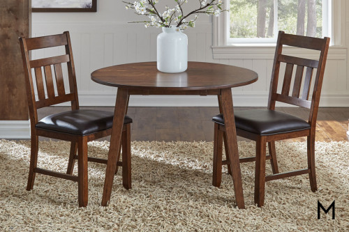 Mason 3 Piece Dining Set in Mango Wood