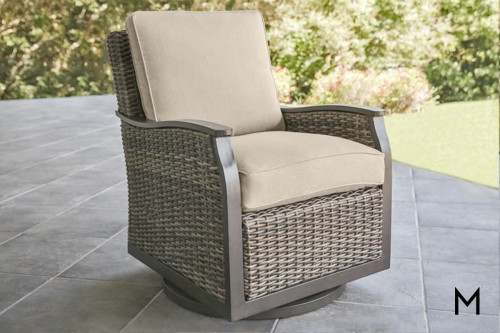 M Collection Trenton Swivel Glider