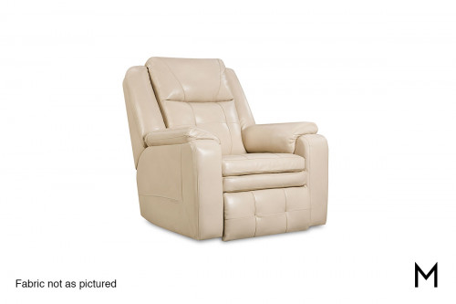 M Collection Inspire Rocker Recliner with Power Headrest