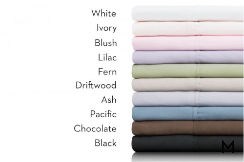 Pacific Brushed Microfiber Full Sheets