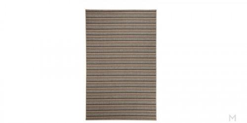 Makai Striped Area Rug 5' x 7'