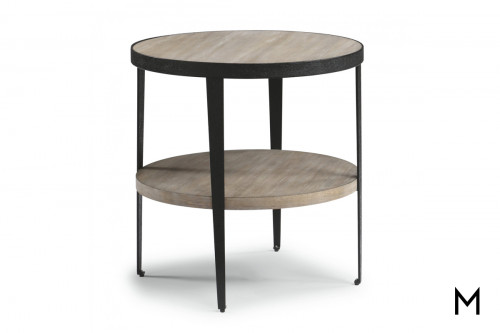 Compass Lamp Table