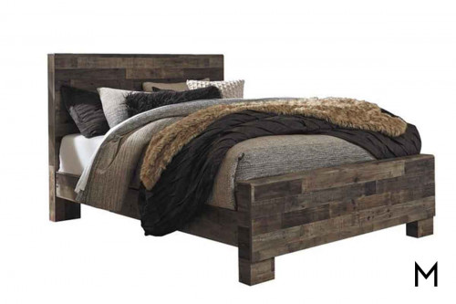 Derekson Barnwood Queen Bed