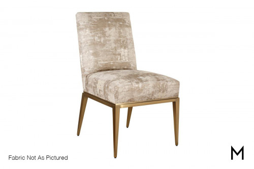 Dema Dining Side Chair in Antique Bronze