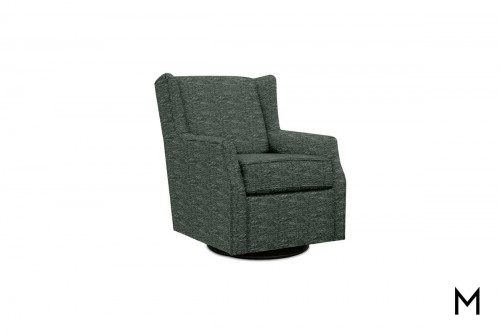 Allie Swivel Glider in Pineland Sea