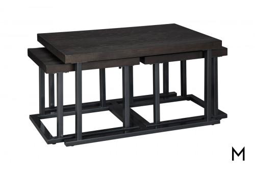 Airdon 3-Piece Cocktail Table Set