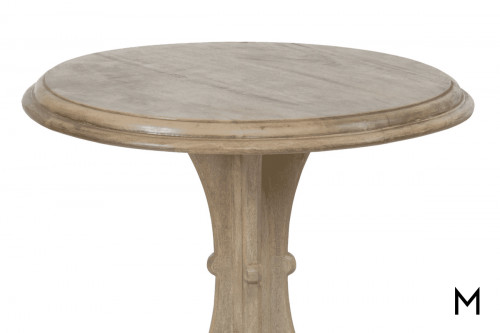 Ball-Foot Accent Table