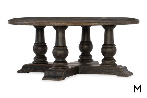 Medina Coffee Table featuring Two Tone Wood