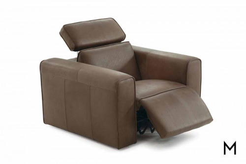 Pinnacle Wallhugger Recliner with Power Headrest