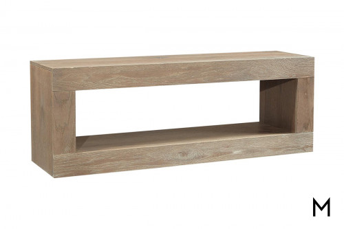 "Alder 60"" Open Console in English Taupe"