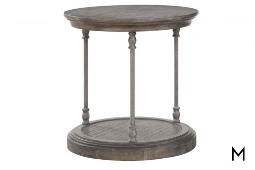 Corbin Round End Table