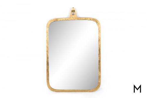 Gold Leaf Wall Mirror