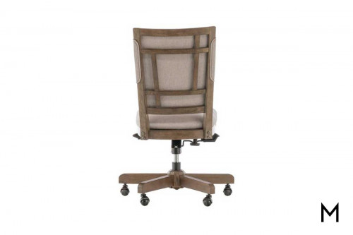 Terrace Office Chair with Upholstered Seat