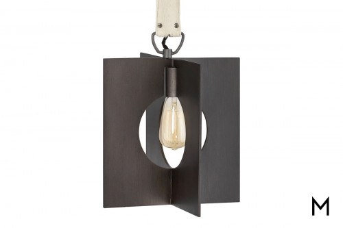 Modern Palladian 1 Light Pendant