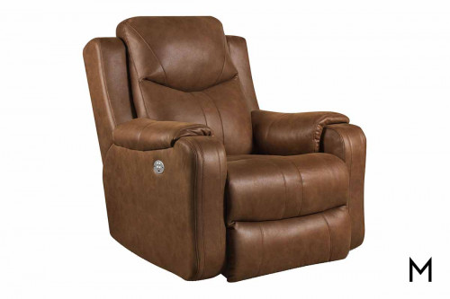 M Collection Marvel Rocker Recliner with Power Headrest