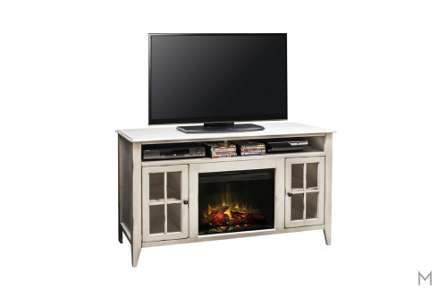 "Calistoga 60"" TV Console with Fireplace"