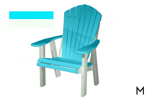 Aruba White Patio Chair