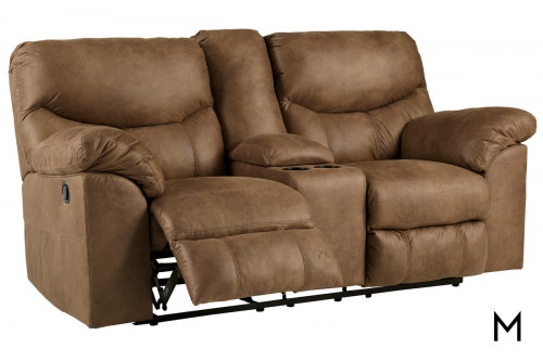 Boxberg Reclining Loveseat with Center Console